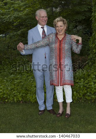 NEW YORK - MAY 30: Bette Midler and Tim Gunn attend the 12th Annual Bette Midler's New York Restoration Project Spring Picnic at Gracie Mansion on May 30, 2013 in New York City.