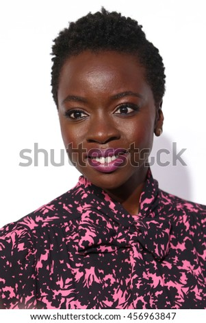 NEW YORK - MAY 20, 2016:  Danai Gurira attends the Drama League Awards at the Marriot Marquis on May 20, 2016 in New York City.
