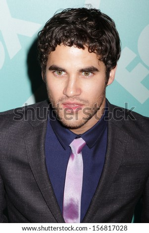New york - may 13: darren criss attends the 2013 fox upfront at