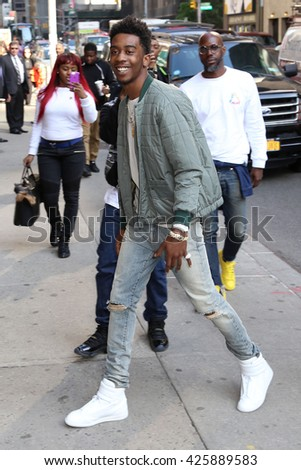 NEW YORK - May 11, 2016: Desiigner sighting on May 11, 2016 in New York City.