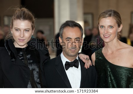 NEW YORK - MAY 18: (L-R) Dree Hemingway, Francisco Costa and Amanda Brooks attend the 69th Annual American Ballet Theatre Spring Gala at The Metropolitan Opera House on May 18, 2009 in New York City. - stock photo