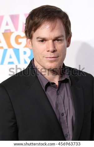 NEW YORK - MAY 20, 2016:  Michael C. Hall attends the Drama League Awards at the Marriot Marquis on May 20, 2016 in New York City.