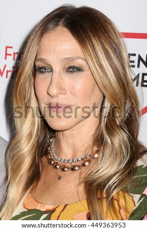 NEW YORK - MAY 16, 2016: Sarah Jessica Parker attends the 2016 PEN America Literary Gala at the American Museum of Natural History in New York, on May 16, 2016.