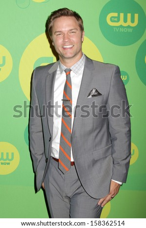 NEW YORK - MAY 16: Scott Porter attends the 2013 CW Upfront Presentation at The London Hotel on May 16, 2013 in New York City.