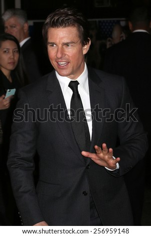 NEW YORK - MAY 29, 2014: Tom Cruise sighting on May 29, 2014 in New York City. - stock photo