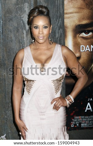 "NEW YORK - MAY 29: Vivica A. Fox attends the premiere of ""After Earth"" at the Ziegfeld Theatre on May 29, 2013 in New York City."