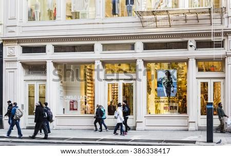 Clothing stores in soho new york