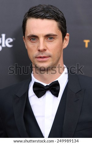 "NEW YORK - NOV 17, 2014: Matthew Goode attends the premiere of ""The Imitation Game"" at the Ziegfeld Theatre on November 17, 2014 in New York City."