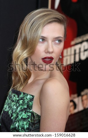 "NEW YORK - NOV 18: Scarlett Johansson attends the premiere of ""Hitchcock"" at the Ziegfeld Theatre on November 18, 2012 in New York City.  - stock photo"