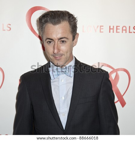 NEW YORK - NOVEMBER 09: Alan Cumming attends Love Heals The Alison Gertz Foundation For AIDS Education 20th Anniversary gala at the Four Seasons Restaurant on November 9, 2011 in New York City, NY. - stock photo