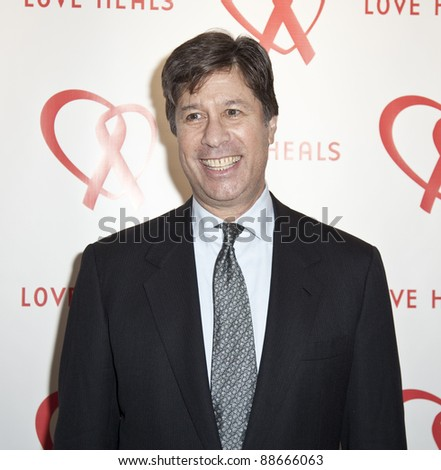 NEW YORK - NOVEMBER 09: Eric Rudin attends Love Heals The Alison Gertz Foundation For AIDS Education 20th Anniversary gala at the Four Seasons Restaurant on November 9, 2011 in New York City, NY. - stock photo