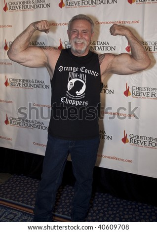 NEW YORK - NOVEMBER 9: TV personality Paul Teutel attends The Christopher and Dana Reeve Foundation's 'A Magical Evening' gala at the Marriot Marquis on November 9, 2009 in New York City.