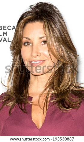 NEW YORK, NY - APRIL 24: Actress Gina Gershon attends the 'Palo Alto' Premiere during the 2014 Tribeca Film Festival at the SVA Theater