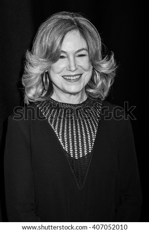 NEW YORK, NY - APRIL 16: Actress Mary Kay Place and Edward Shapoff  attend 'Youth In Oregon' Premiere - 2016 Tribeca Film Festival   on April 16, 2016 in New York City - stock photo