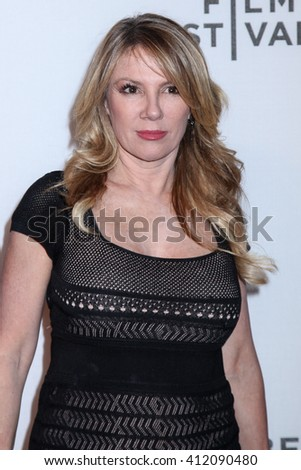 NEW YORK, NY - APRIL 18: Ramona Singer attends the ' Equals' premiere during the 2016 Tribeca Film Festival at John Zuccotti Theater on April 18, 2016 in New York City. - stock photo