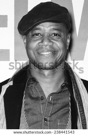 NEW YORK, NY - DECEMBER 14, 2014: Actor Cuba Gooding Jr. attends the 'Selma' New York Premiere at the Ziegfeld Theater