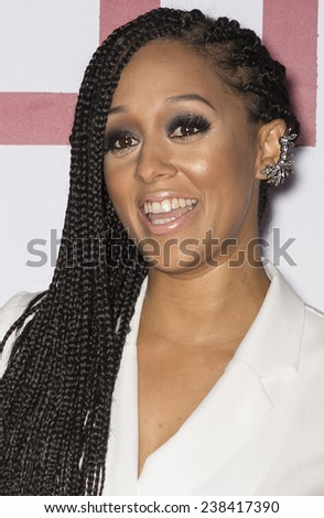 NEW YORK, NY - DECEMBER 14, 2014: Actress Tia Mowry attends the 'Selma' New York Premiere at the Ziegfeld Theater