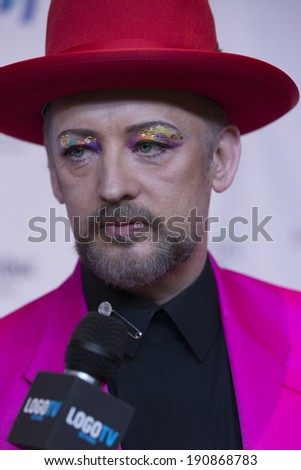 New York, NY - May 03, 2014: Boy George attends the 25th Annual GLAAD Media Awards at Waldorf Astoria