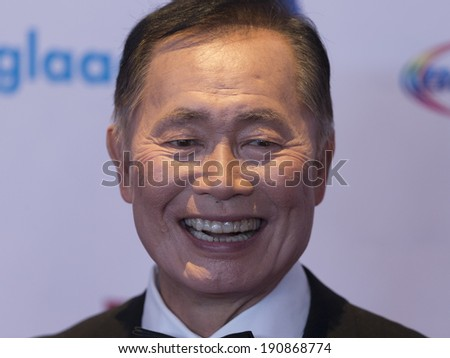 New York, NY - May 03, 2014: George Takei attends the 25th Annual GLAAD Media Awards at Waldorf Astoria