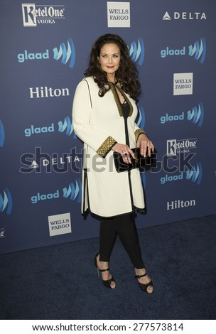 New York, NY - May 9, 2015: Lynda Carter attends 26th Annual GLAAD Media Awards at Waldorf Astoria