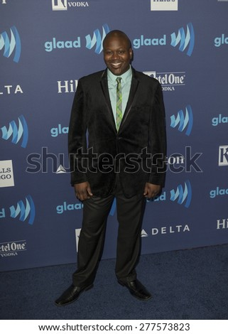 New York, NY - May 9, 2015: Titus Burgess attends 26th Annual GLAAD Media Awards at Waldorf Astoria