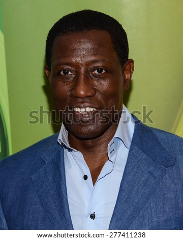 New York, NY â?? Tuesday May 11, 2015: Wesley Snipes attends the NBC Upront Presentation at Radio City Music Hall in New York City.