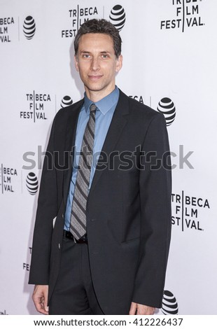 New York, NY, USA - April 22, 2016: Actor Ben Shenkman attends Tribeca Tune In: 'The Night Of' Screening during 2016 Tribeca Film Festival at SVA Theatre