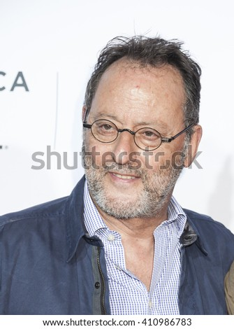 New York, NY, USA - April 21, 2016: Actor Jean Reno attends the 'Taxi Driver' 40th Anniversary Celebration during the 2016 Tribeca Film Festival at The Beacon Theatre, NYC