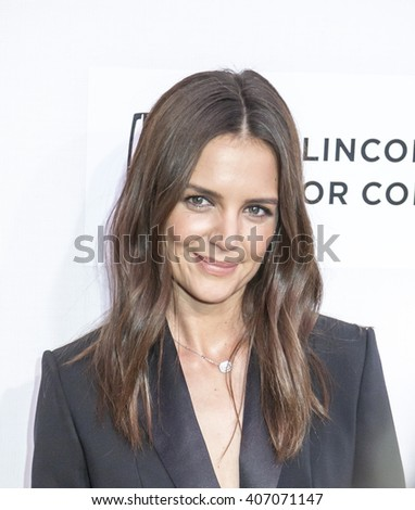 New York, NY, USA - April 15, 2016: Actress, director Katie Holmes attends the 'All We Had' premiere during the 2016 Tribeca Film Festivalat at the John Zuccotti Theater at BMCC Tribeca PAC