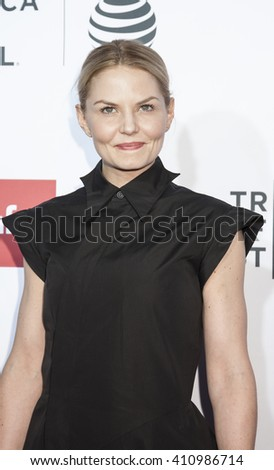 New York, NY, USA - April 21, 2016: Actress Jennifer Morrison attends the 'Taxi Driver' 40th Anniversary Celebration during the 2016 Tribeca Film Festival at The Beacon Theatre, NYC - stock photo