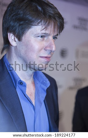 New York, NY, USA - April 24, 2014:Violinist Joshua Bell attends the premiere of 'Third Person' during the 2014 Tribeca Film Festival at BMCC Tribeca PAC in New York City