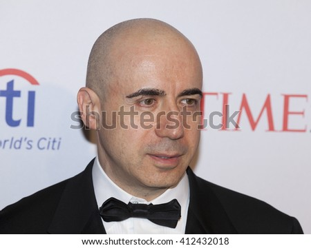 New York, NY USA - April 26, 2016: Yuri Milner attends Time 100 gala at Jazz at Lincoln Center - stock photo