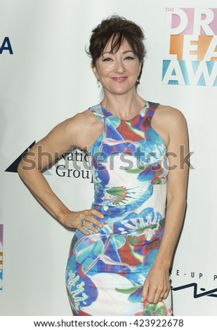 New York, NY USA - May 20, 2016: Carmen Cusak attends 82nd Drama League awards at Marriott Marquis Times Square
