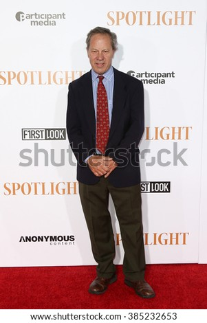 NEW YORK-OCT 27: Journalist Ben Bradlee Jr. attends the 'Spotlight' New York premiere at Ziegfeld Theatre on October 27, 2015 in New York City.