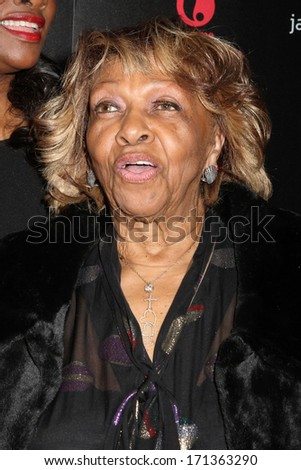 """NEW YORK - OCTOBER 22, 2012: Cissy Houston attends the premiere of """"The Houstons: On Our Own"""" at the Tribeca Grand on October 22, 2012 in New York City. - stock photo"""
