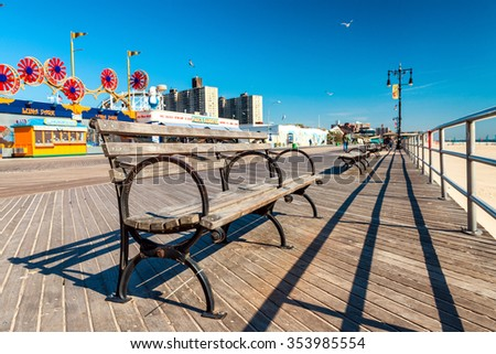 Image result for coney island boardwalk