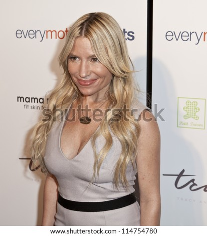 NEW YORK - OCTOBER 05: Tracy Anderson attends launch of The Tracy Anderson Method Pregnancy Project at Le Bain At The Standard Hotel on October 05, 2012 in New York City. - stock photo