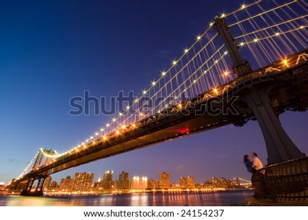 New York Romance - stock photo