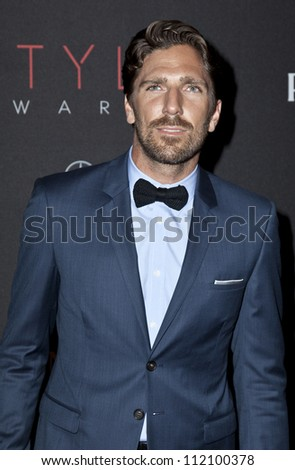 NEW YORK - SEPTEMBER 05: Henrik Lundqvist attend the 9th annual Style Awards during Mercedes-Benz Fashion Week at The Stage Lincoln Center on September 5, 2012 in New York City