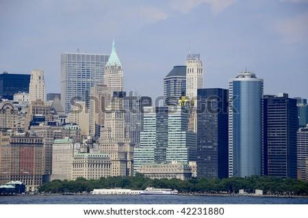 New york skyline - stock photo