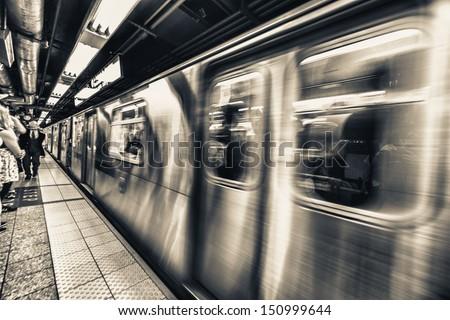 New York Subway.