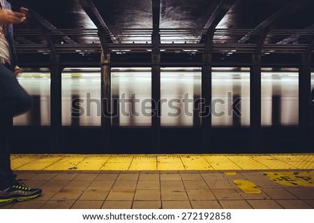 New York Subway - stock photo