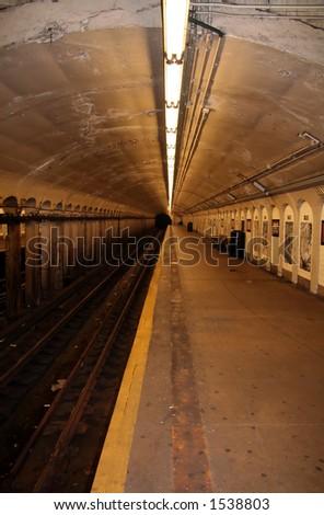 New York Subway Station - 15 - stock photo