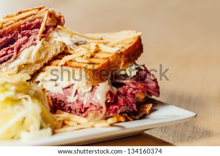 New Yorker Sandwich - stock photo