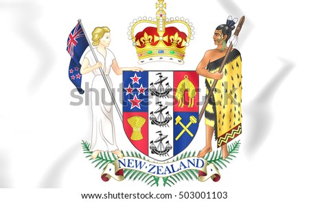 New Zealand Coat of Arms.