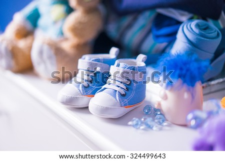 Newborn tiny shoes