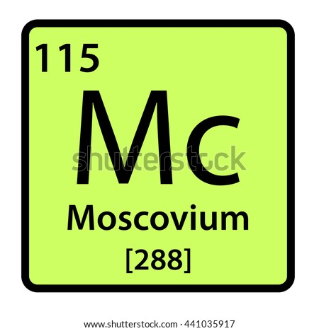 Moscovium stock photos royalty free images vectors for 115 on the periodic table