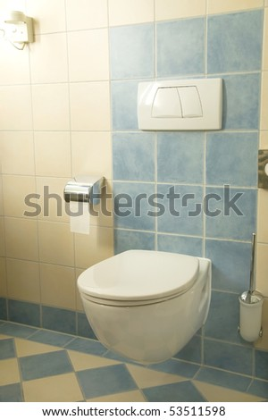 newly renovated bathroom with terracotta tiles