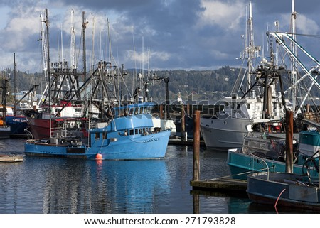 Yaquina bay stock photos images pictures shutterstock for Newport oregon fishing