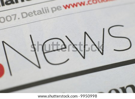 News series - stock photo